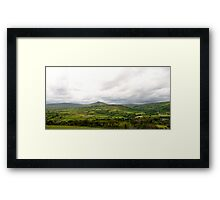 Heart of the Glens  Framed Print