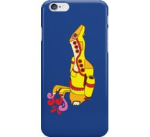 Yellow Serenity (no text) iPhone Case/Skin