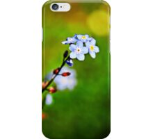 A Forget Me Not flower iPhone Case/Skin