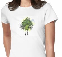 Fun with Vegetables: Broccoli Womens Fitted T-Shirt