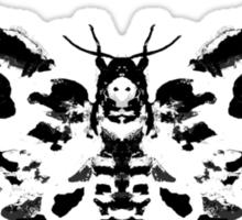 Death's Head Rorschach Sticker