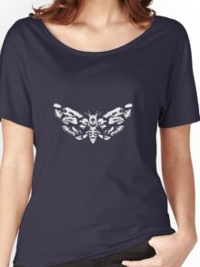 Death's Head Rorschach (inverted) Women's Relaxed Fit T-Shirt