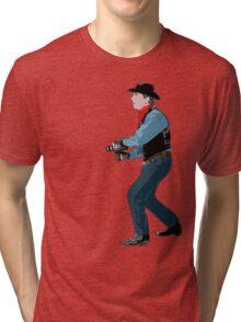 super 8 cowboy Tri-blend T-Shirt