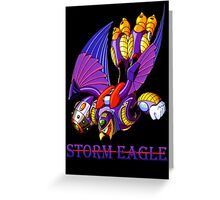 Storm Eagle Greeting Card