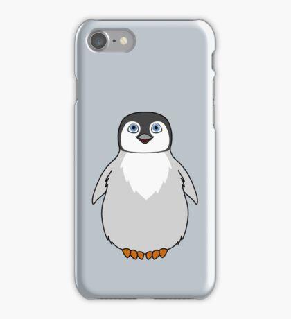 Natural Grey Baby Penguin iPhone Case/Skin