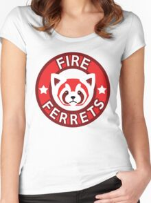 Fire Ferrets Women's Fitted Scoop T-Shirt