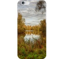 Peace by the Lake iPhone Case/Skin