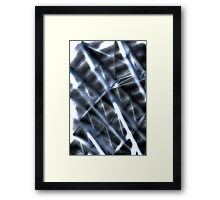 Grandstand Abstract Framed Print