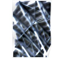 Grandstand Abstract Poster