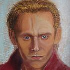 Tom Hiddleston as Prince Hal by Hilary Robinson