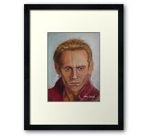 Tom Hiddleston as Prince Hal Framed Print