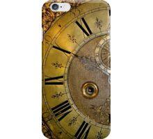Brass Clock Face iPhone Case/Skin