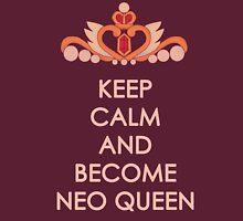 Keep Calm - Neo Queen Crown Clothing T-Shirt