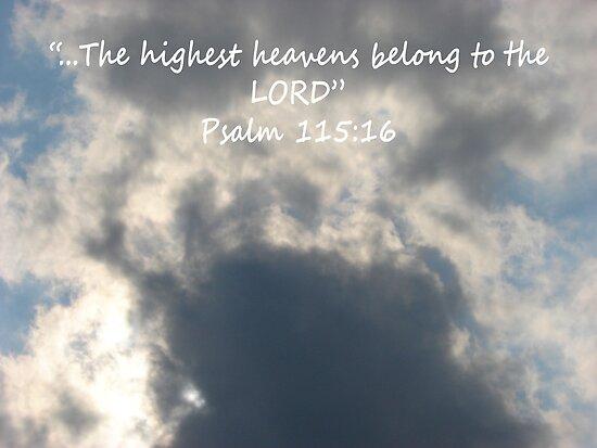 """""""Psalm 115:16""""  by Carter L. Shepard by echoesofheaven"""