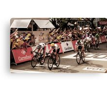 Andre Griepel and Mark Cavendish Canvas Print
