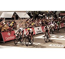 Andre Griepel and Mark Cavendish Photographic Print