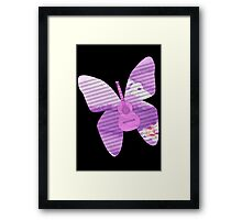 acoustic butterfly  Framed Print