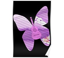 acoustic butterfly  Poster