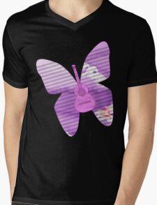 acoustic butterfly  Mens V-Neck T-Shirt