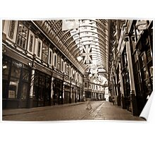 "Leadenhall Market London "" Ghost "" Poster"