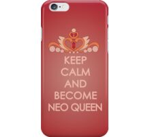 Keep Calm - Neo Queen Crown Iphone iPhone Case/Skin