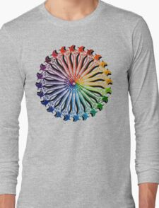Wrench Color Wheel B Long Sleeve T-Shirt