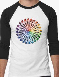 Wrench Color Wheel B Men's Baseball ¾ T-Shirt
