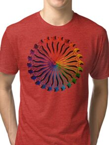 Wrench Color Wheel B Tri-blend T-Shirt