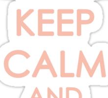 Keep Calm - Neo Queen Crown Clothing 2 Sticker