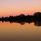Sunset Longreach, Queensland by Julia Harwood