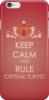 Keep Calm - Neo Queen Crown Iphone 2 by SimplySM