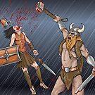 Never insult a Viking by Benjamin Bader