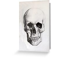 Human Skull - Frontal Greeting Card