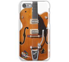 Gretsch Rockabilly Guitar iPhone Case/Skin