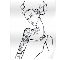 Tattooed Elf-Lady Number One Poster