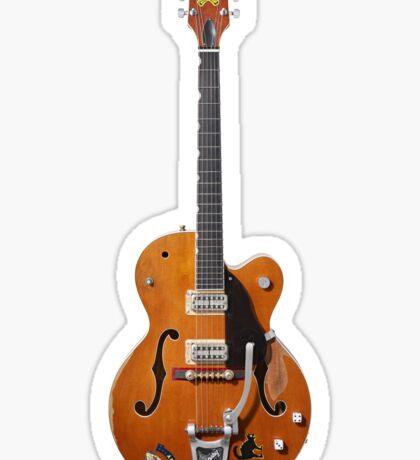 Gretsch Rockabilly Guitar Sticker
