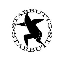 Starbutts Logo Design Photographic Print
