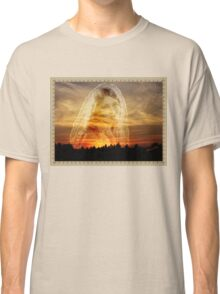 Laura ~ the Face in the Misty Light  Classic T-Shirt