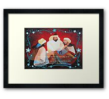 Where Is The Child Who Has Been Born King Of The Jews? Framed Print