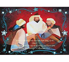 Where Is The Child Who Has Been Born King Of The Jews? Photographic Print