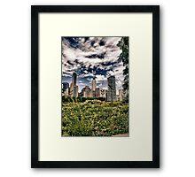 Moody Windy City Framed Print