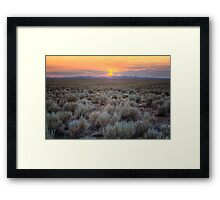 Brushset Framed Print