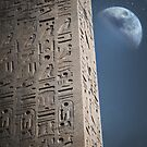 egyptian moon by vinpez