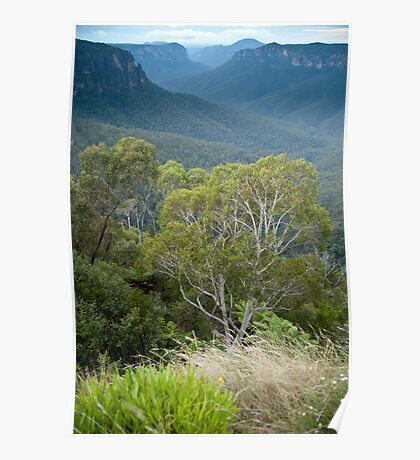 Govetts Leap Blackheath NSW Poster