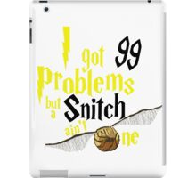 Badger Problems iPad Case/Skin