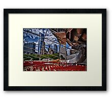 Chicago: Lots to Offer Framed Print