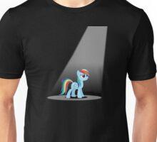Rainbow Dash in the Spotlight Unisex T-Shirt