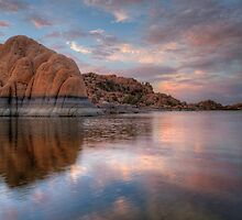 Water Level Pink by Bob Larson