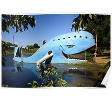 Route 66 - Blue Whale Poster
