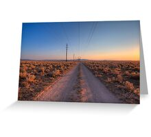 Retro Roaming Greeting Card